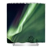 Light In The Sky Shower Curtain by Dave Bowman