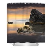 Light In The Storm Shower Curtain