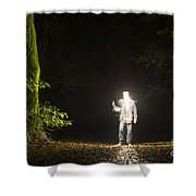 Light Man Shower Curtain