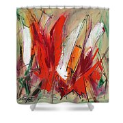 Light My Fire Shower Curtain