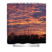 Light My Sky Shower Curtain