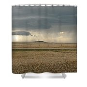Light Near The End Of The Storm Shower Curtain