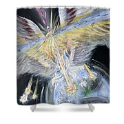 Light Of Awakening Shower Curtain