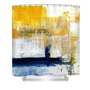 Light Of Day 4 Shower Curtain by Linda Woods