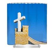 Light Of Hope Shower Curtain
