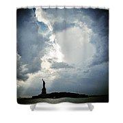 Light Of Liberty Shower Curtain