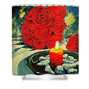 Light Of Love Shower Curtain