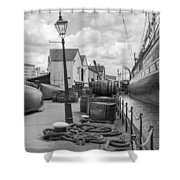 Light Of The Dock Shower Curtain
