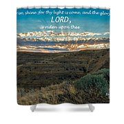 Light Of The Lord Shower Curtain