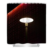 Light On At The Museum Shower Curtain