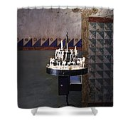 Light One Candle Shower Curtain