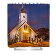Light Painting 6 Shower Curtain