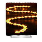 Light Path Shower Curtain