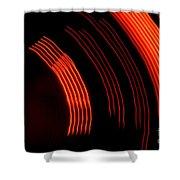 Light Show 4 Shower Curtain