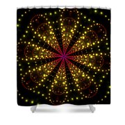 Light Show Abstract 3 Shower Curtain