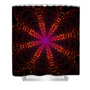 Light Show Abstract 4 Shower Curtain