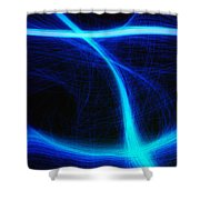 Light Show Abstract 5 Shower Curtain