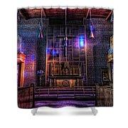 Light Show Shower Curtain