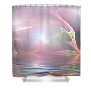 Light Source Shower Curtain