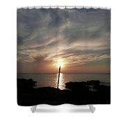 Light The Sun Shower Curtain