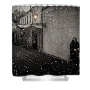 Light The Way Shower Curtain