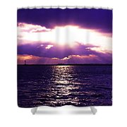 Light Therapy Shower Curtain