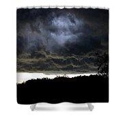 Light Through The Storm Shower Curtain