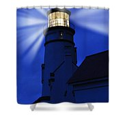 Light Up The Sea Shower Curtain
