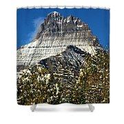 Light White Blanket Shower Curtain