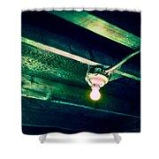 Lightbulb And Cobwebs Shower Curtain