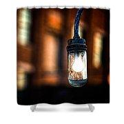 Lightbulb Bates Mill #5 Shower Curtain
