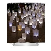 Lighted Lantern Bags Shower Curtain