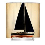 Lightening Sails Shower Curtain