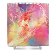 Lighthearted - Abstract Art Shower Curtain