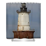 Lighthouse 3 Shower Curtain