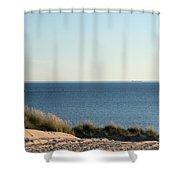 Lighthouse And Pierhead Shower Curtain