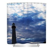 Lighthouse At Cape May Nj Shower Curtain
