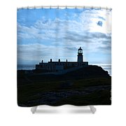 Lighthouse At Neist Point Shower Curtain