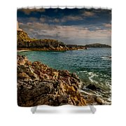 Lighthouse Bay Shower Curtain