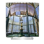 Lighthouse First Order Fresnel Lens Shower Curtain