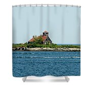 Lighthouse Keepers Residence Shower Curtain