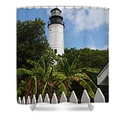 A Sailoirs Guide On The Florida Keys Shower Curtain