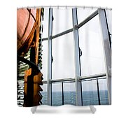 Lighthouse Lens Shower Curtain