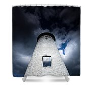 Lighthouse On Boblo Island Shower Curtain