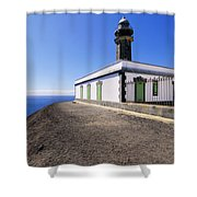 Lighthouse On Hierro Shower Curtain