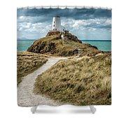 Lighthouse Path Shower Curtain
