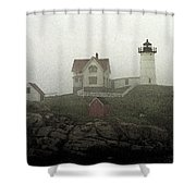 Lighthouse - Photo Watercolor Shower Curtain