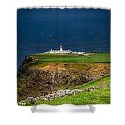 Lighthouse Ponta Do Albernaz Shower Curtain