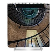 Lighthouse Stairs Shower Curtain