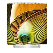 Lighthouse Stairway - Point Loma San Diego Shower Curtain